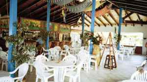Restaurant at Orient Beach, St. Martin